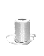 Panglica alba 5 mm, cod PA02