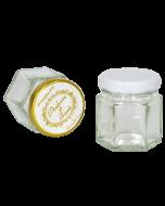 Borcan 50 ml Hexagonal, cod BST003