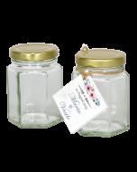 Borcan 120 ml Hexagonal, cod BST140