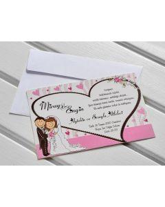 Invitatie nunta 9356