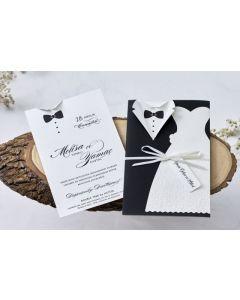 Invitatie nunta 1158P