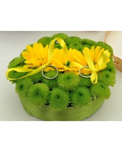 Aranjament floral verighete, cod SV15