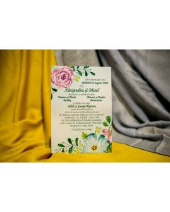 Invitatie nunta 225 B