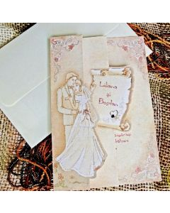 Invitatie nunta 31314