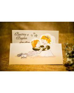 Invitatie nunta 3283 B