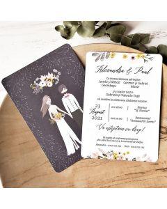Invitatie nunta 39786 X