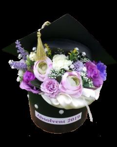 Aranjament absolvire flori artificiale, cod AB01