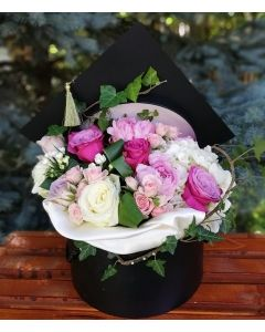 Aranjament absolvire flori naturale, cod AB05