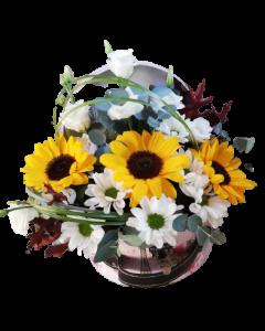 Aranjament flori naturale, cod AF31
