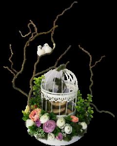 Aranjament flori artificiale, cod AFA03
