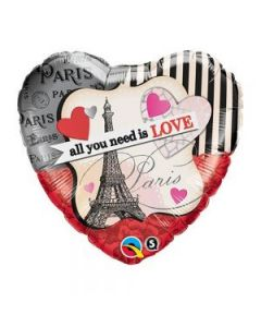 "Balon folie ""All you need is love"", cod 65096"