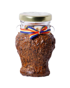 Borcan 106 ml Amfora Greceasca in scoarta, cod BSC011
