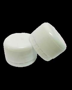 Capac prefiletat din plastic 28 mm alb, cod DC01 alb