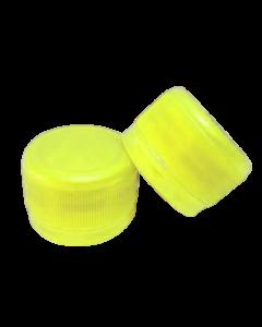 Capac prefiletat din plastic 28 mm galben, cod DC01 galben