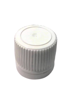 Capac plastic prefiletat D18 Alb, cod DC02