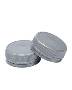 Capac plastic prefiletat D38 mm gri, cod DC04 gri