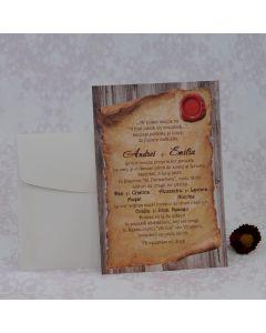 Invitatie nunta 2231 Z