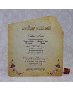 Invitatie nunta 2208 Z