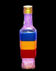 Sticla 250 ml Stof 1 in sfoara colorata, cod HM017