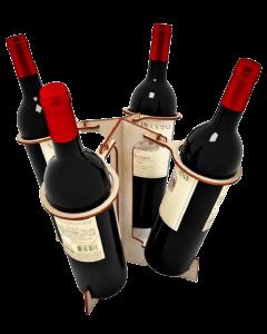Suport 4 sticle vin, cod LTAV12