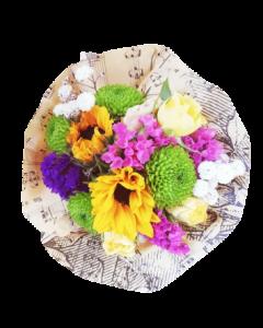 Mini buchet flori naturale, cod MBF03