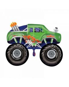 Balon folie Monster Truck, cod 27385