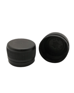 Capac prefiletat din plastic 28 mm negru, cod DC01 negru