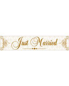 Numar masina Just Married, cod NM01