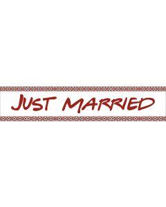 Numar masina Just Married, cod NM05