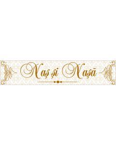 Numar masina Nas si Nasa, cod NM16