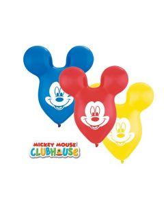 Baloane latex Mickey Mouse Ears 38 cm 5 buc, cod 73592