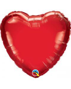 Balon folie mini Inima, cod Q23402