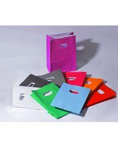 Pungi hartie marime S diverse culori, cod ISS02