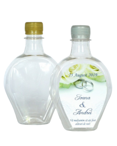 Sticla plastic 330 ml Inima, cod STP011