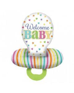"""Folie Suzeta """"Welcome Baby"""", cod 30952"""